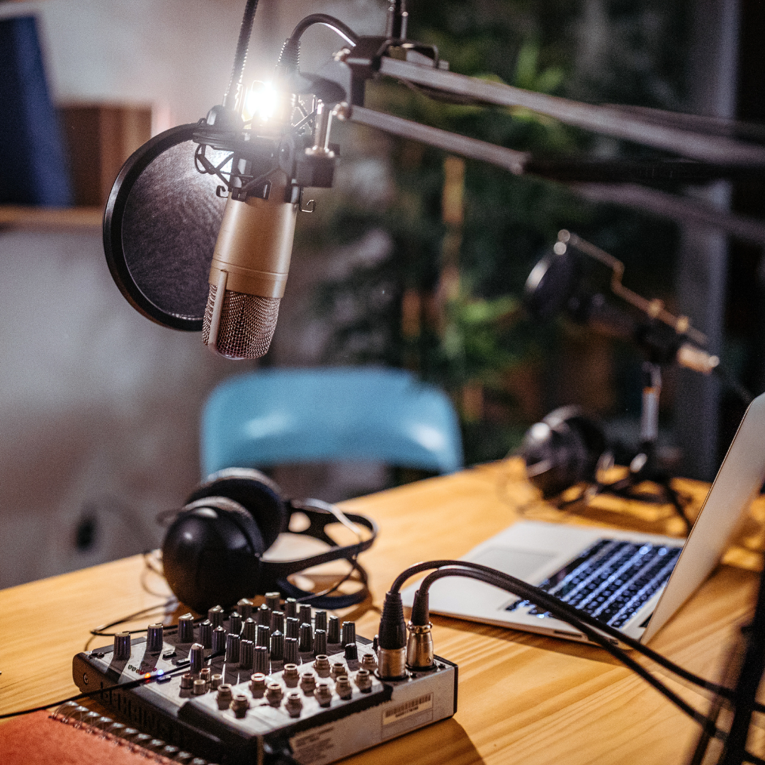 Inspiration via podcasts